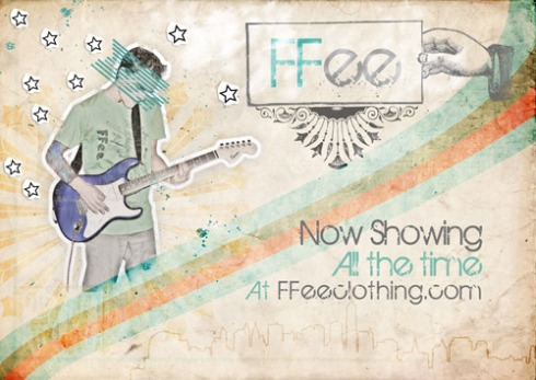 FFee Rock Poster