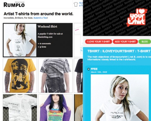 Rumplo and iloveyourshirt.com